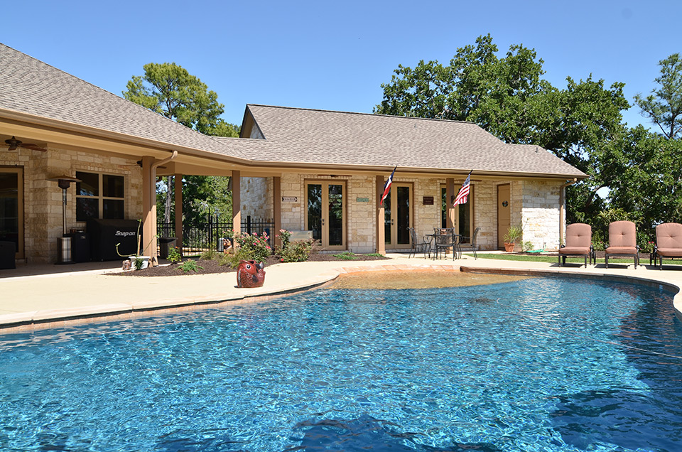 Swimming pools dreamscapes llc home landscapes for Pool design austin