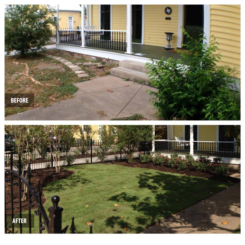 Landscaping dreamscapes llc home landscapes exterior for Custom landscaping